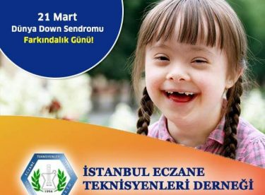 Dünya Down Sendromu Farkındalık Günü!
