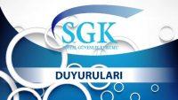 Sosyal Güvenlik Kurumu'nun Göz İçi İlaç Uygulamalarında Yapılan Düzenlemeler Konulu Duyurusu