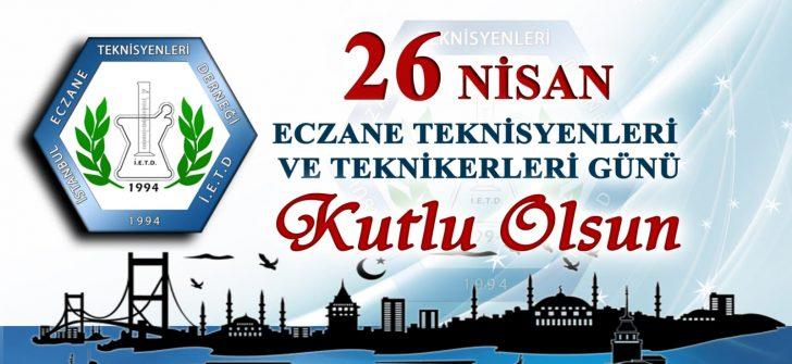 Marmara Eczane Teknisyenleri Dernekleri Federasyonu 26 Nisan Eczane Teknisyenleri Günü Kutlaması