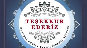 İSTANBUL ECZANE TEKNİSYENLERİ DERNEĞİ 25. YILI